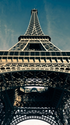 Paris Effel Tower FranceのiPhone用壁紙