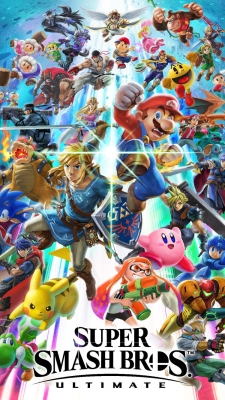 Super Smash Bros. UltimateのiPhone用壁紙