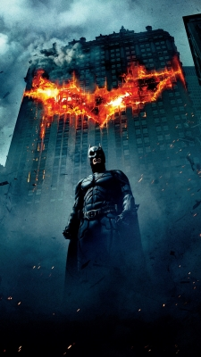 Batman The Dark Knight RisesのiPhone用壁紙