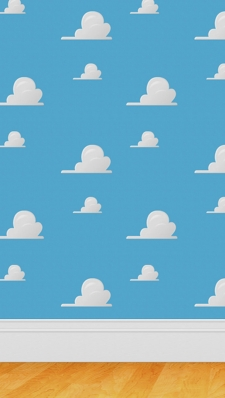 Pop Cloud PatternのAndroid用壁紙
