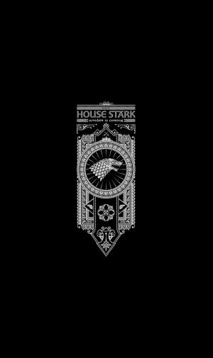 Game of Thrones House StarkのAndroid壁紙