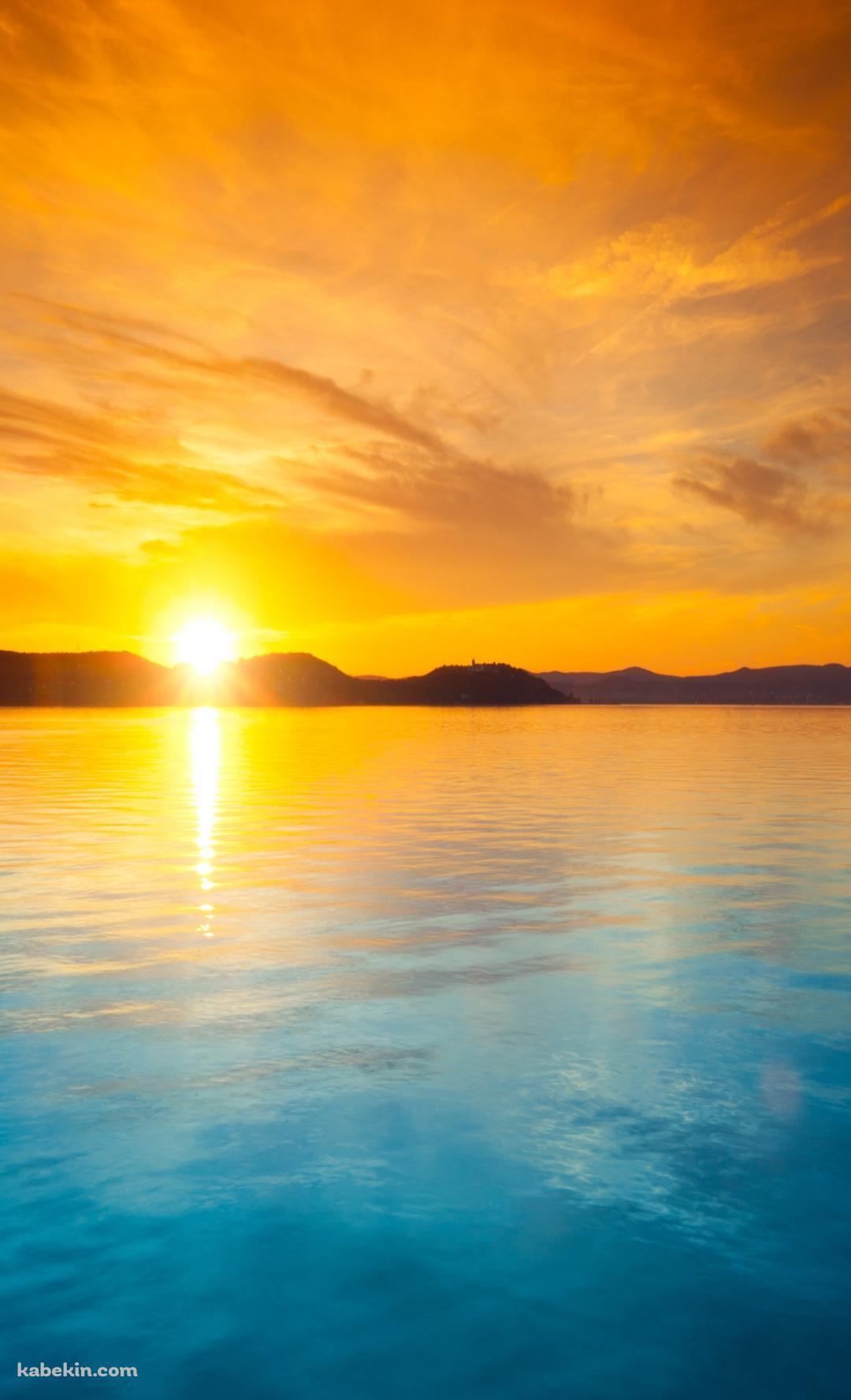 夕日と海のandroid壁紙 1080 X 1776 壁紙キングダム スマホ版