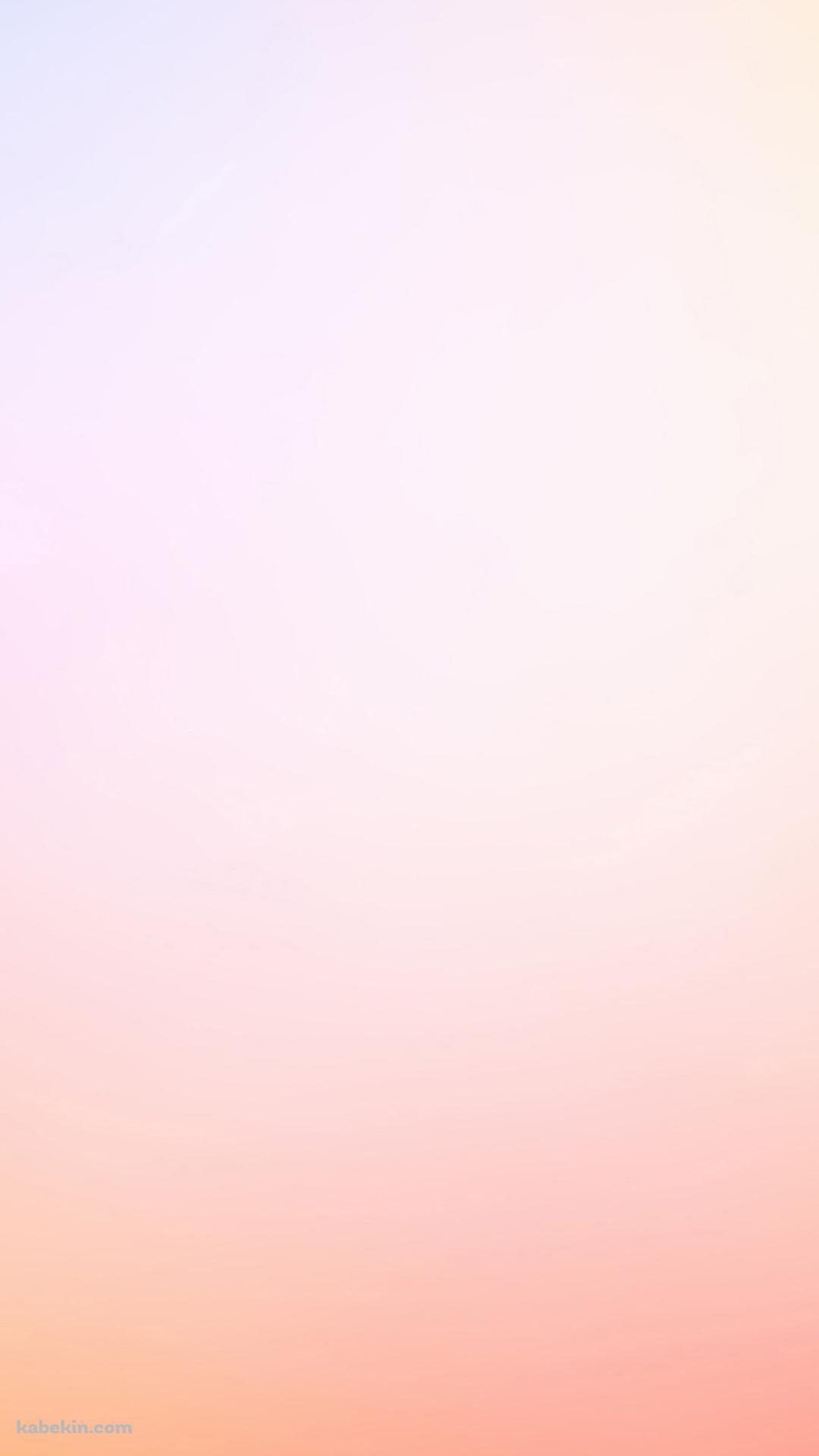淡いピンクのグラデーションのandroid壁紙 1080 X 1920 壁紙