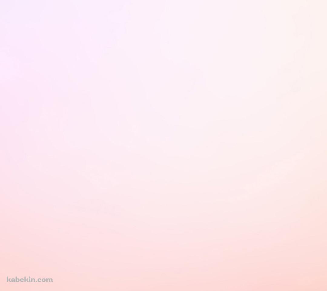 淡いピンクのグラデーションのandroid壁紙 1080 X 960 壁紙