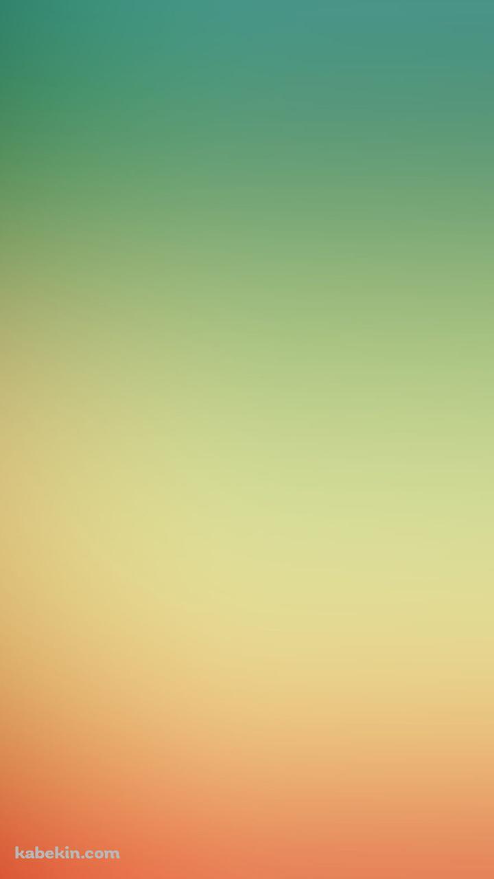 緑 オレンジ グラデーションのandroid壁紙 7 X 1280 壁紙キングダム スマホ版