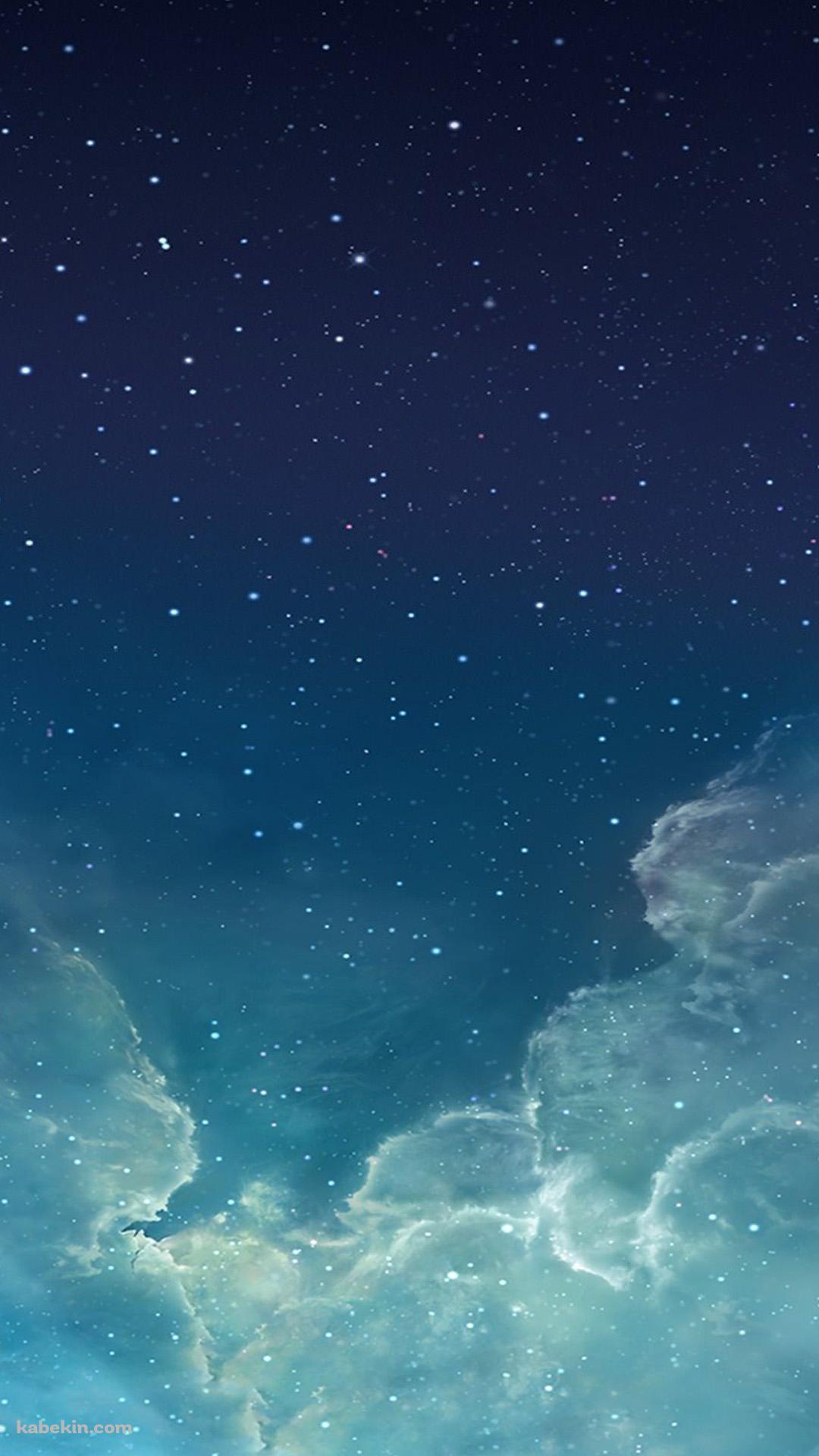 水色の星空のandroid壁紙 1080 X 19 壁紙キングダム スマホ版