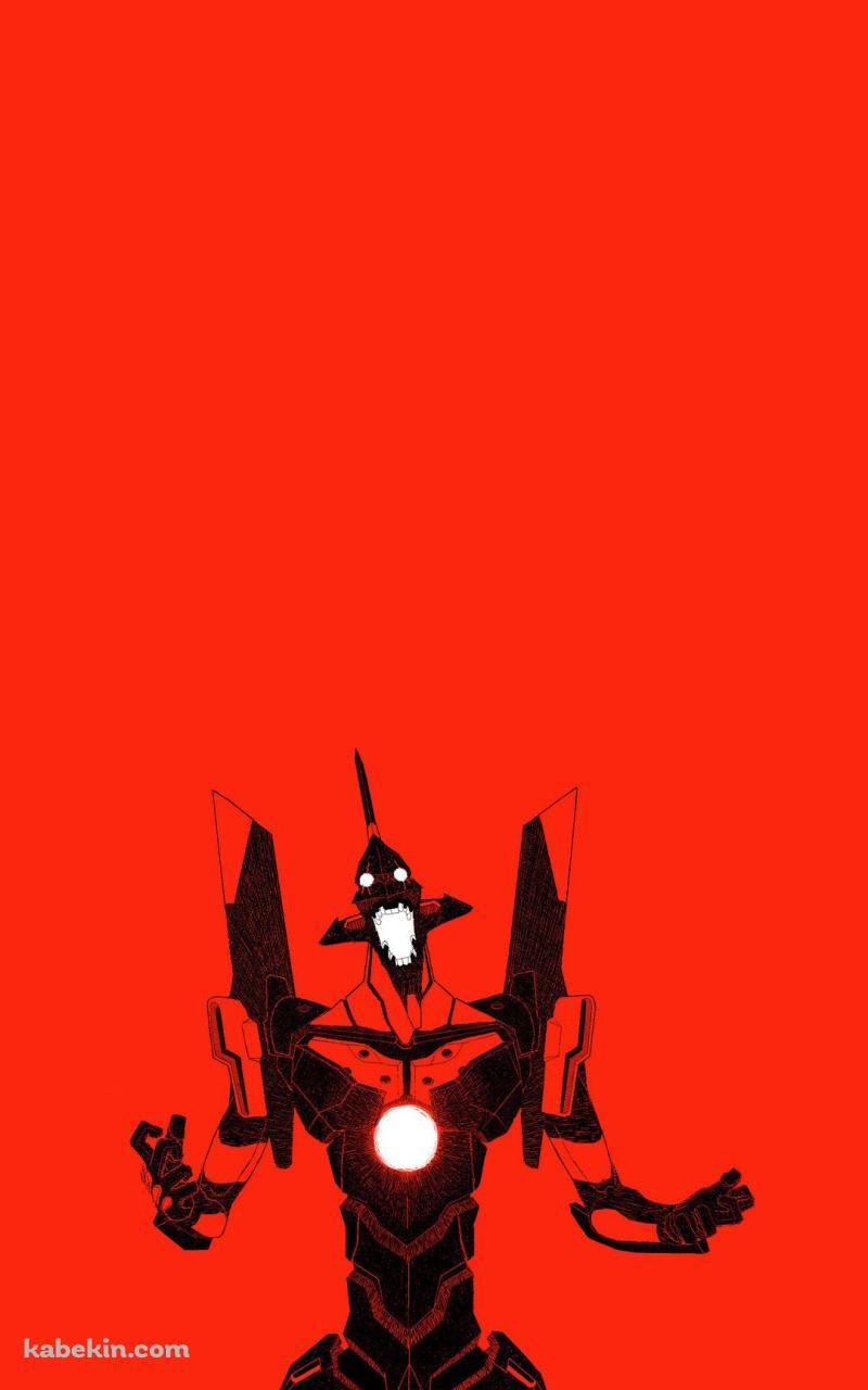 エヴァンゲリオン 赤 イラストのandroid壁紙 800 X 1280 壁紙キングダム スマホ版