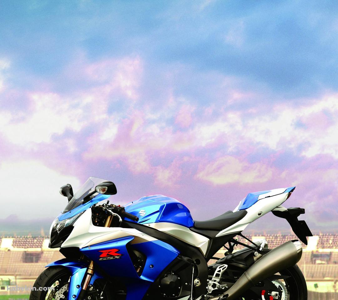 スズキの青いバイクのandroid壁紙 1080 X 960 壁紙キングダム スマホ版