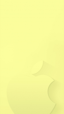Light YellowのiPhone用壁紙