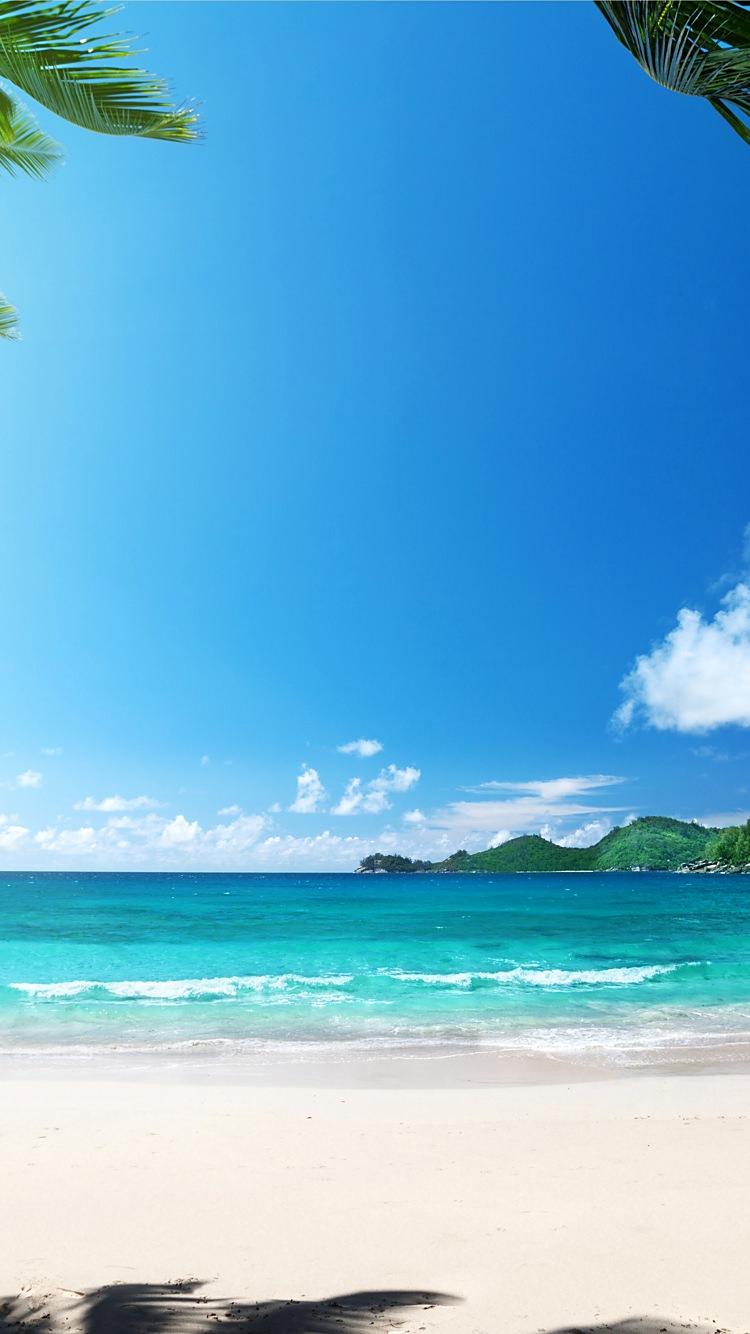 夏のハワイの海のiphone7壁紙 壁紙キングダム スマホ版