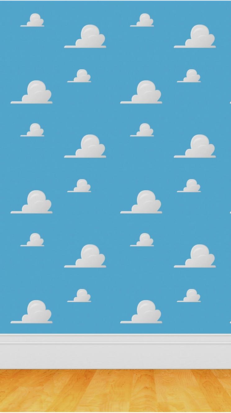 かわいい雲のパターンのiphone5壁紙 壁紙キングダム スマホ版