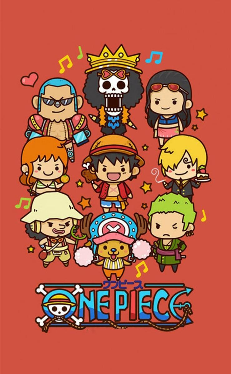One Piece キャラクターアイコンのiphone4壁紙 壁紙キングダム スマホ版