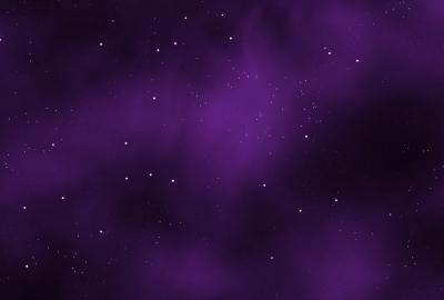 紫の星空の壁紙