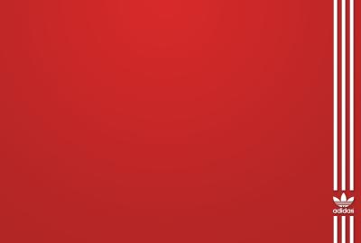 赤 アディダスの壁紙