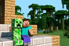 minecraft creeperの壁紙