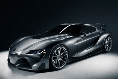Toyota Ft1 Graphite Concept Carの壁紙