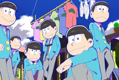 おそ松さん 青の壁紙