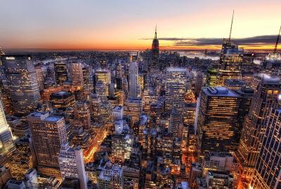 アメリカ ニューヨークの夜景の壁紙 壁紙キングダム Pc デスクトップ用