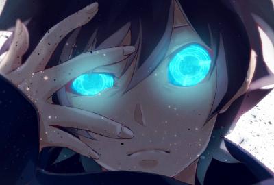 目が光る血界戦線