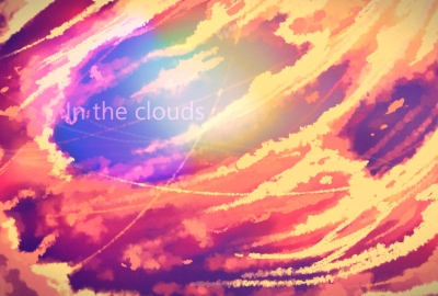 in the cloudsの壁紙