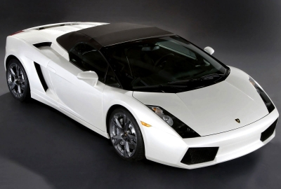White lamborghini hdの壁紙