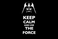 keep calm and use the forceの壁紙
