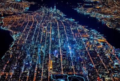 ニューヨークの夜景の壁紙 壁紙キングダム Pcデスクトップ用
