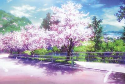 桜のイラストの壁紙 壁紙キングダム Pc デスクトップ用