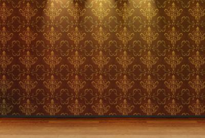 ライトアップされた高級感のある壁面の壁紙 壁紙キングダム Pc・デスクトップ用