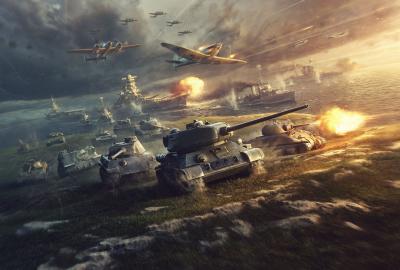 戦車 飛行機の壁紙