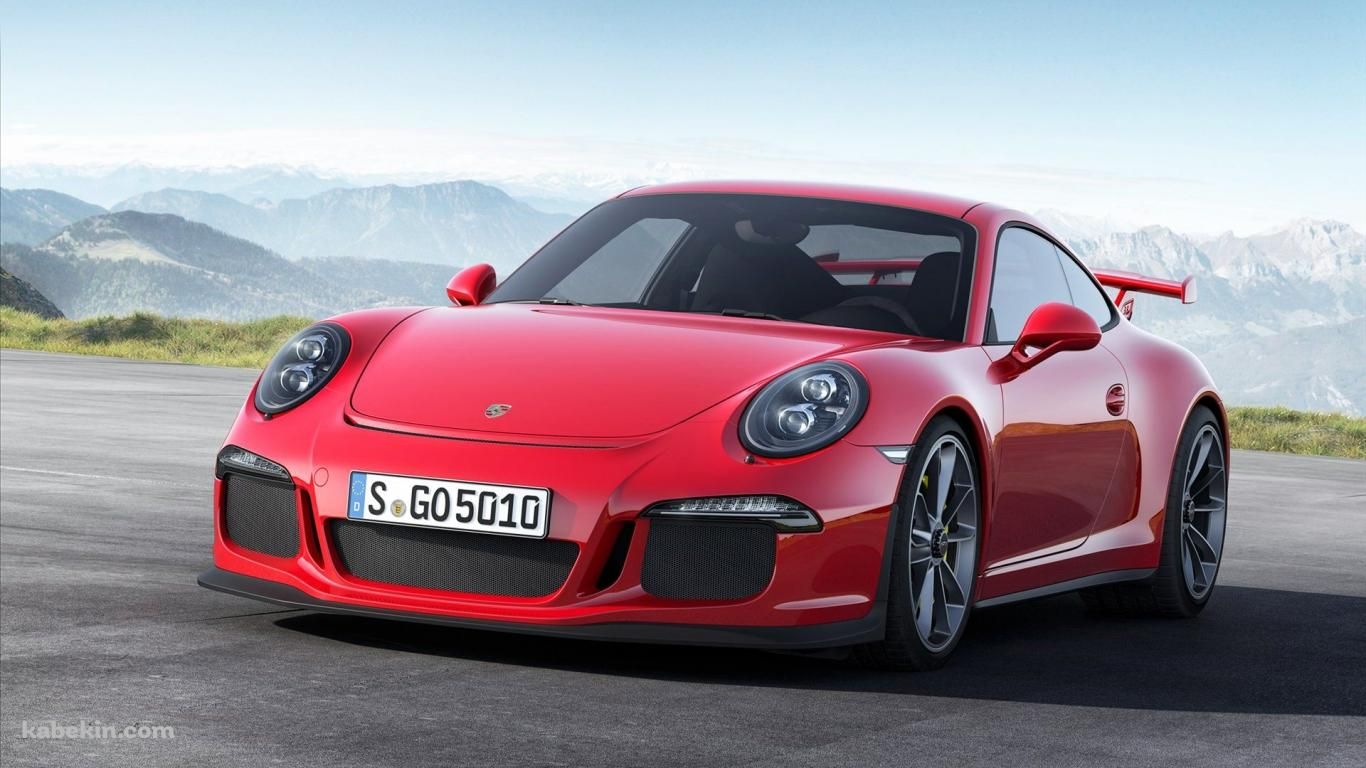red porche911の壁紙